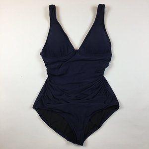 NEW J. Crew Ruched Femme Bathing Suit 16 XL B6819